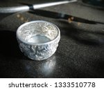silver blessing bowl in... | Shutterstock . vector #1333510778