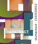 geometric minimal abstract... | Shutterstock .eps vector #1333520012