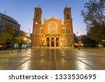 athens  greece   november 6 ... | Shutterstock . vector #1333530695
