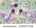 collection of saudi arabia... | Shutterstock . vector #1333571768