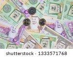 collection of saudi arabia... | Shutterstock . vector #1333571768