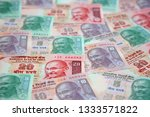 collection of the indian... | Shutterstock . vector #1333571822