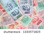 collection of the indian... | Shutterstock . vector #1333571825
