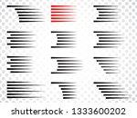 speed lines form . vector... | Shutterstock .eps vector #1333600202