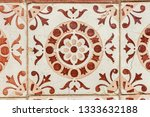 closeup detail of old... | Shutterstock . vector #1333632188