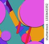flat material design   creative ... | Shutterstock .eps vector #1333642352