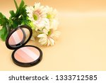 close up of beauty cheek brush... | Shutterstock . vector #1333712585