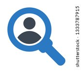 user search glyph double color...