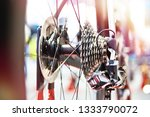 rear sprockets with chain... | Shutterstock . vector #1333790072