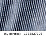 gray metal  perforated... | Shutterstock . vector #1333827308