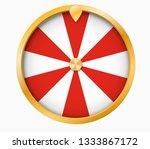 wheel of fortune lottery luck... | Shutterstock .eps vector #1333867172