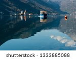 the bay of kotor is the winding ... | Shutterstock . vector #1333885088