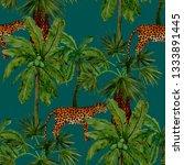 watercolor seamless pattern... | Shutterstock . vector #1333891445
