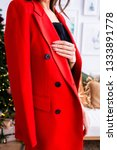 girl in a red jacket | Shutterstock . vector #1333891778