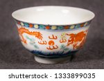 antique teaware collection of... | Shutterstock . vector #1333899035