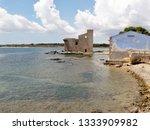 tonnara and swabian tower in...   Shutterstock . vector #1333909982