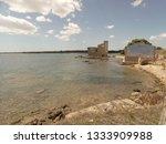 tonnara and swabian tower in...   Shutterstock . vector #1333909988