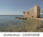 tonnara and swabian tower in...   Shutterstock . vector #1333910048