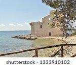 tonnara and swabian tower in...   Shutterstock . vector #1333910102