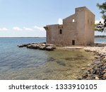 tonnara and swabian tower in...   Shutterstock . vector #1333910105