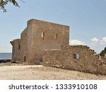 tonnara and swabian tower in...   Shutterstock . vector #1333910108