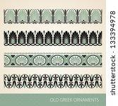 old greek ornament. vector... | Shutterstock .eps vector #133394978