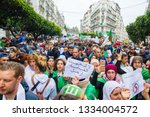 algiers  algeria   march 08... | Shutterstock . vector #1334004572