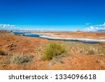 the glen canyon dam national... | Shutterstock . vector #1334096618