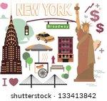 new york print | Shutterstock .eps vector #133413842