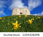 Clifford S Tower In York Durin...