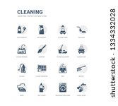 simple set of icons such as... | Shutterstock .eps vector #1334332028