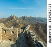 great wall of beijing china   Shutterstock . vector #1334382425
