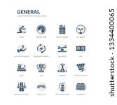 simple set of icons such as... | Shutterstock .eps vector #1334400065