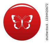 small butterfly icon. simple... | Shutterstock . vector #1334420672