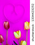 spring flower of multi color... | Shutterstock . vector #1334423252