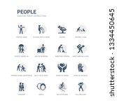 simple set of icons such as... | Shutterstock .eps vector #1334450645