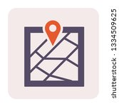gps and map icon design  64x64... | Shutterstock .eps vector #1334509625