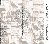 birch trees on the background...   Shutterstock .eps vector #1334521925