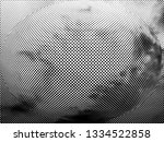 dotted gradient geometric... | Shutterstock . vector #1334522858