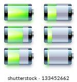 vector illustration of detailed ... | Shutterstock .eps vector #133452662