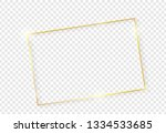 gold shiny glowing vintage...   Shutterstock .eps vector #1334533685