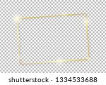 gold shiny glowing vintage... | Shutterstock .eps vector #1334533688