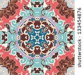 vector seamless floral pattern... | Shutterstock .eps vector #133454876