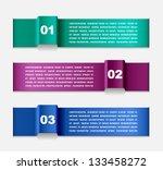 modern infographics template | Shutterstock .eps vector #133458272
