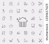 clean home icon. cleaning icons ...