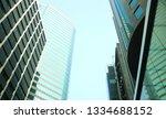exterior of glass residential... | Shutterstock . vector #1334688152