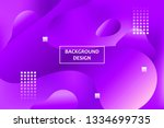 abstract banner  cover  landing ... | Shutterstock .eps vector #1334699735