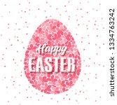 vector illustration of easter...   Shutterstock .eps vector #1334763242
