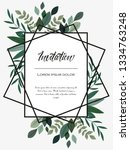 vector illustration invitation...   Shutterstock .eps vector #1334763248