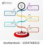 infographic design template....   Shutterstock .eps vector #1334768312